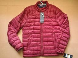 Título do anúncio: Jaqueta de plumas Tommy Hilfiger nova, vermelha