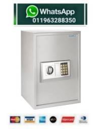 Título do anúncio: Cofre Eletrônico Digital Teclado Com Prateleira Sb50<br><br>