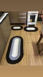 Kit de tapete de crochê para cozinha!