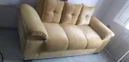 Título do anúncio: Sofa 3 lugares conservado