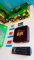 Título do anúncio: Transforme a sua TV em Smart com o Tv Box 4k BR