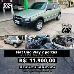 Uno Way 2 portas 2008  (Triunfo Automoveis)