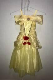 Título do anúncio: Vestido Princesa Bela Tam 4
