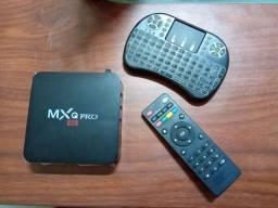 Título do anúncio: Vendo tv box com controle