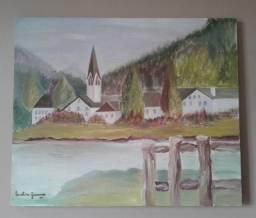 Quadro Pintura em tela à óleo