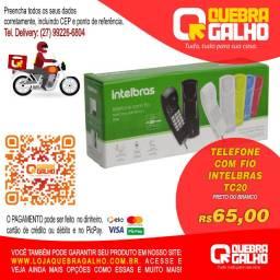 Telefone Intelbras TC20 Gôndola Preto Ou Branco