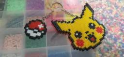 Chaveiros personalizados hama beads