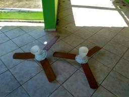 Ventilador de teto semi novo