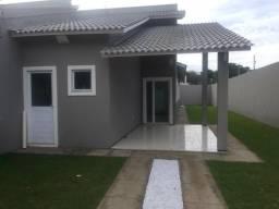 Excelente casa plana no eusébio com terreno grande 6x40