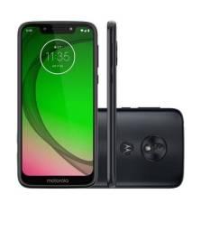 Motorola moto G7 play índigo novo