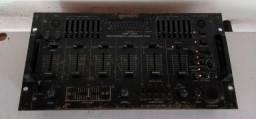 Raro clássico equipamento dj 1995 mixer gemini pdm 7024raro sampler 4 canais bivolt.