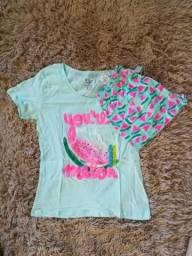 Pijama de verão M novo