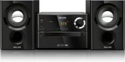 Micro System Philips MCM1150 Preto Com CD/MP3 , Radio, USB e cabo P2