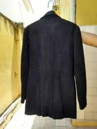 Casaco de couro