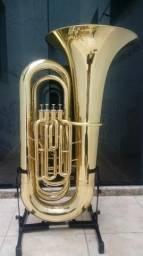 Tuba 4/4 Weril J981 Laqueada Zeradaa/Troco/Parcelo 12x