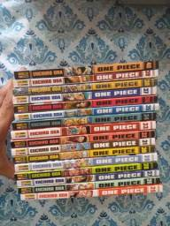 One Piece - 25 a 40 (nunca lidos)