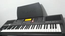 Teclado Roland EXR5s usb impecável