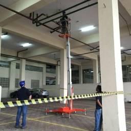 Plataforma Elevatória Individual Elétrica, Altura de Trabalho de 10M