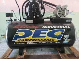 Compressor de ar 25 pés - monofásico