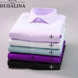 Camisas DUDALINA unissex novas TAMANHO M MANGA LONGA