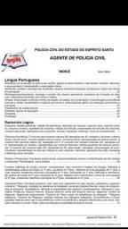 Apostila agente de polícia civil