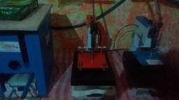Máquinas de estampa+ de 50 intem compacta print nova