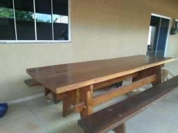 Mesa de madeira legitima. 3 metros