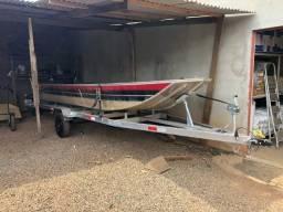 Barco motor carreta - 2018
