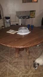 Mesa de madeira grande!