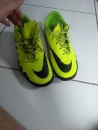 Chuteira Nike Society hypervenom Nr 42 forma 28cm 8f7a0432e8af8