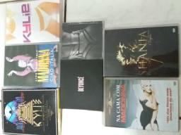CD's e DVD's - Madonna, Beyoncé, Shania, Kylie Minogue e Thalia