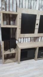 Vendo conjunto sala de estar (Rack, Painel, Torres e Mesa de centro)
