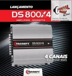 Modulo Taramps 800Wrms Ds800x4 instalado na Canal Som comprar usado  Salvador