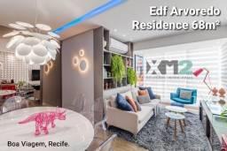 Apartamento venda 68m² Edf Arvoredo Residence R. Maria Carolina, Boa Viagem. Ref. AP328V