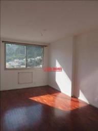 Título do anúncio: Apartamento com 1 dormitório para alugar, 50m² por R$1.200/mês - Santa Rosa - Niterói/RJ -