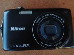 Câmera Fotográfica NiKon Coolpix 3300, ótimo estado