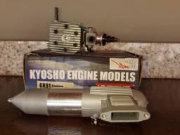 Motor aeromodelo glow kyosho gx 91