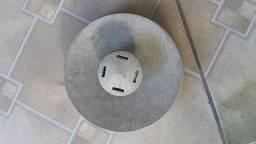 Porta espeto em alumínio antigo