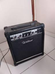 caixa amplificada waldman ga-18r tamanho