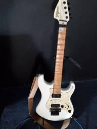 Guitarra Tagima E2 Branca /setup Pedais funcionando perfeitamente