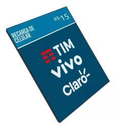 Recarga de celular mas barata, Recarregue R$ 15,00 e só pague R$14,59!