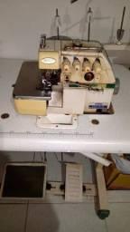 Máquina de costura Interlock industrial