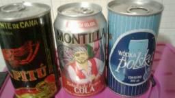 três antiguidade de bebidas