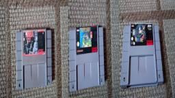 Fitas de Super Nintendo (SNES)
