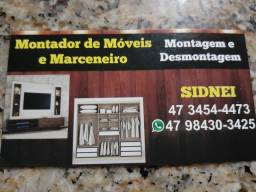 Montador de moveis (aceito cartão)