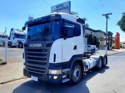 Scania R440 6x4 BG Leve Aut. c/ Ar cond