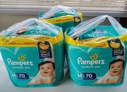 Fralda Pampers Confort Sec Pack Tam. M (buscar em Itabirito)