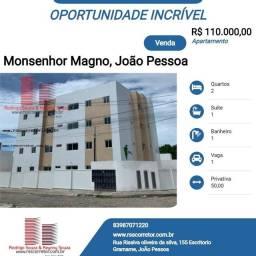 Apartamento para Venda em João Pessoa, Muçumagro, 2 dormitórios, 1 suíte, 1 banheiro, 1 va