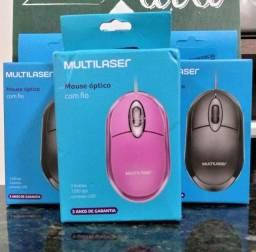 Mouse Multilaser Novo