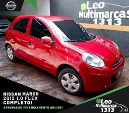 Nissan March  2013 1.0 Flex Completo Mensais a partir de 479,00